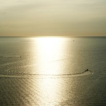 #2823 Boot im Sonnenuntergang