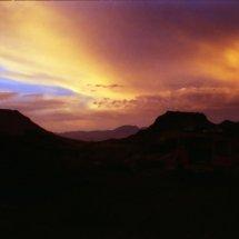 #3410 Sonnenuntergang in den Bergen