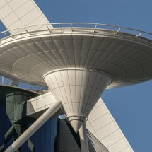 #4250 Hubschrauberlandeplatz Burj al Arab Großaufnahme