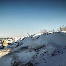 #2832 Schneewehen an der Ostseeküste
